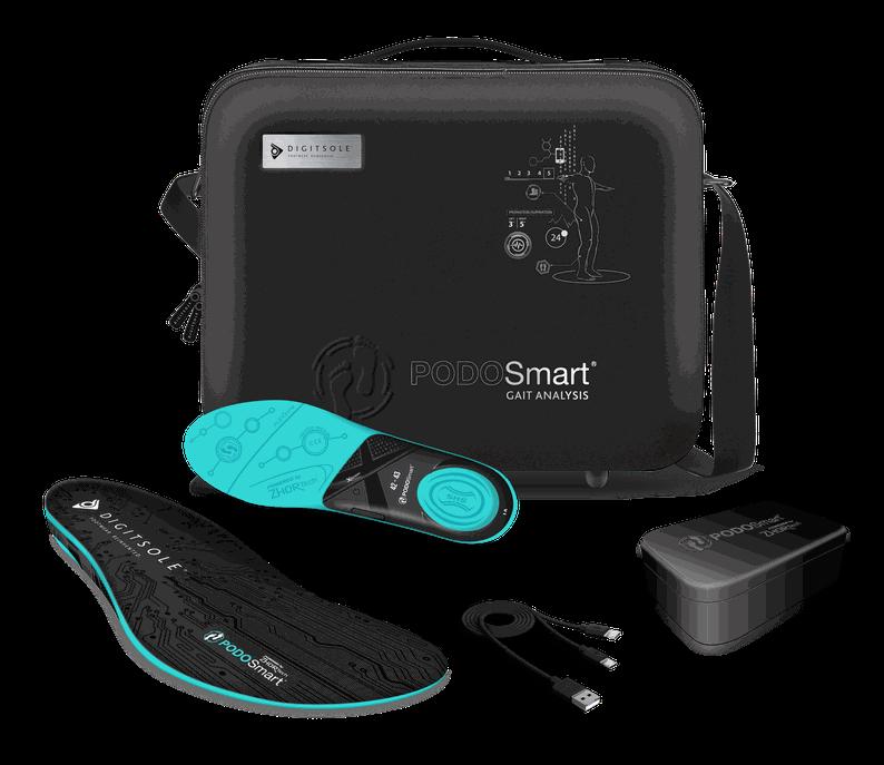 Semelles Bluetooth connectées à une application web