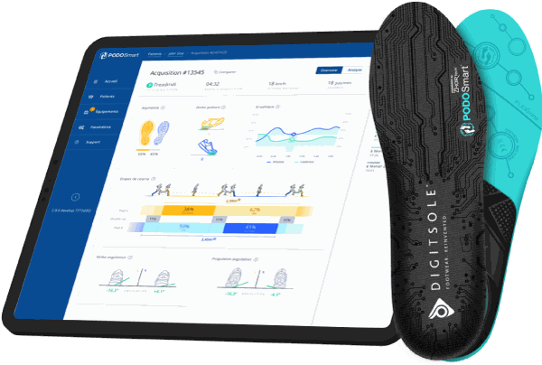 PodoSmart, running gait analysis
