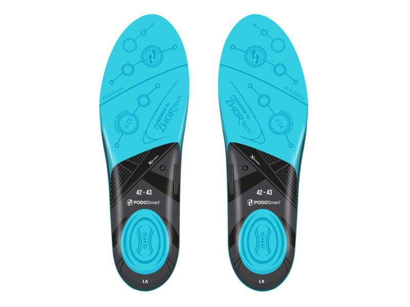 PodoSmart insoles bottom